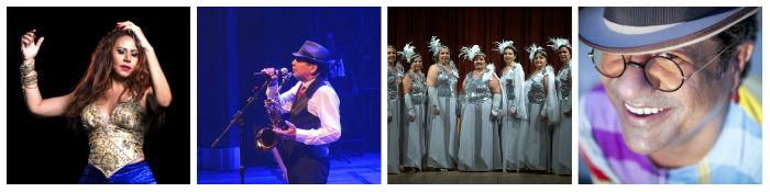 Cristina Amaral, Maestro Spok, Coral Edgar Moraes e Maciel Melo participam do espetáculo. Fotos: Divulgação.