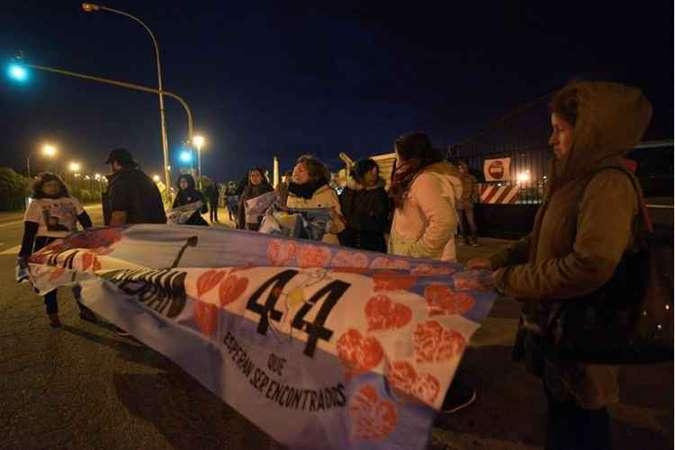 Localização do submarino é anunciada na mesma semana que parentes da tripulação fizeram um protesto em Buenos Aires. Foto: AFP / ALFONSINA TAIN
