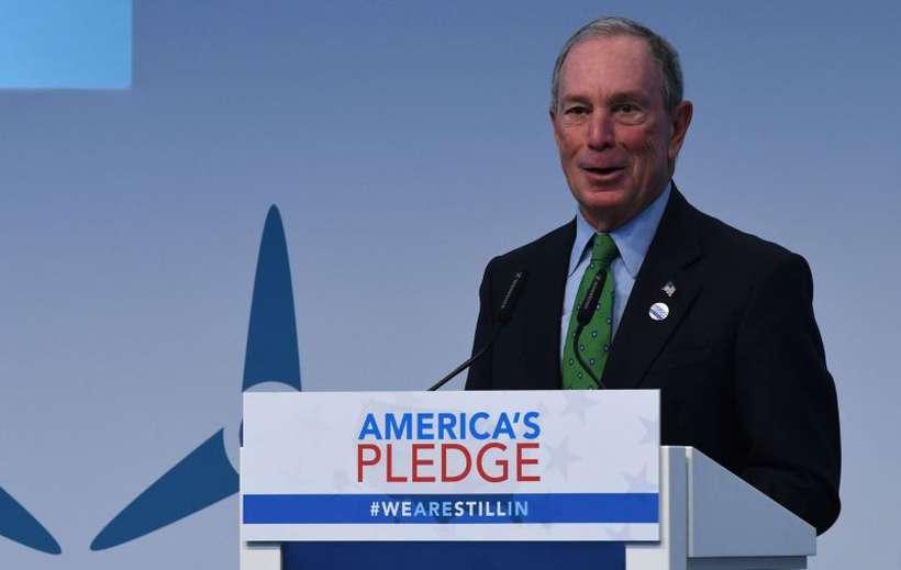 Michael Bloomberg anunciou nesta semana que irá doar US$ 1,8 bilhão à Johns Hopkins University. Foto: Patrik Stollarz/AFP