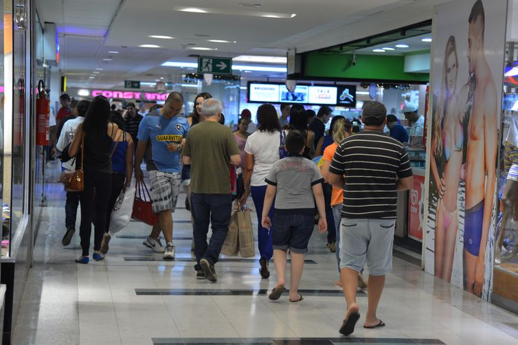 Shopping no centro de Brasília. Foto: Valter Campanato/Arquivo Agência Brasil