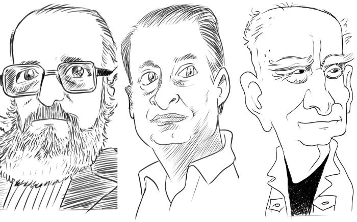 Paulo Freire, Eduardo Campos e Ariano Suassuna em gravuras de Sebastião Corrêa de Araújo