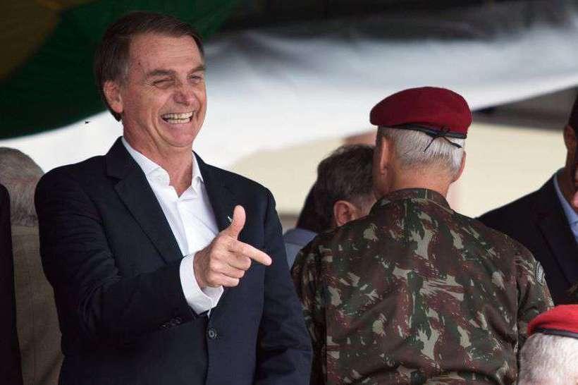 Segundo Bolsonaro, o Brasil é o país que mais preserva o meio ambiente. Foto: Fernando Souza/AFP