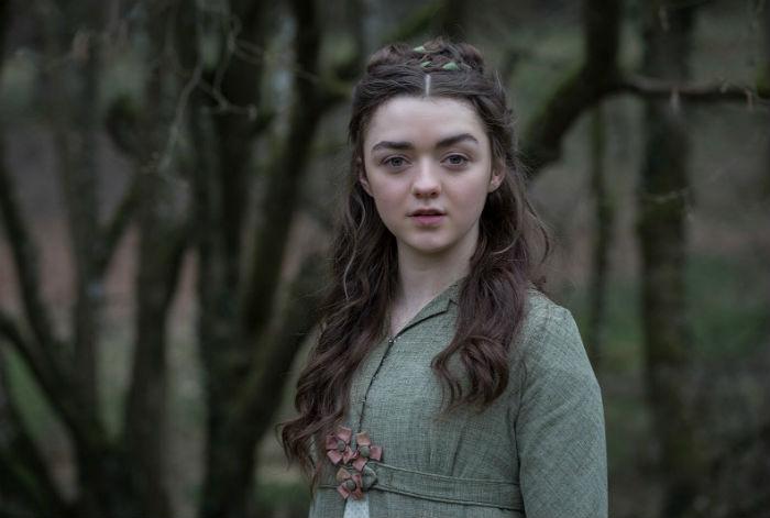Arya Stark faz parte de uma das famílias mais antigas de Westeros, a Casa Stark de Winterfell. Foto: HBO/Divulgação.
