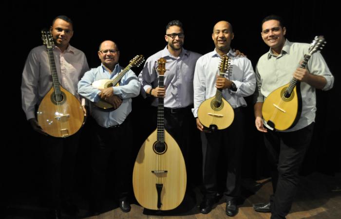 Quinteto de Bandolins do Recife é uma das atrações. Foto: Divulgação