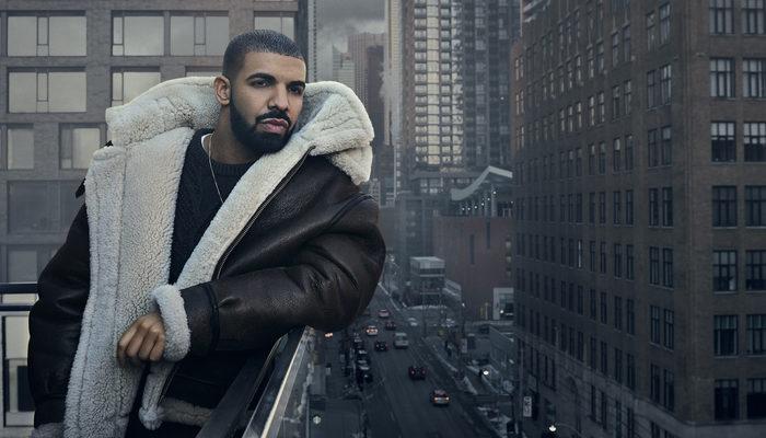 O rapper Drake é o artista mais ouvido pelo Spotify em todo o mundo. Foto: Divulgação