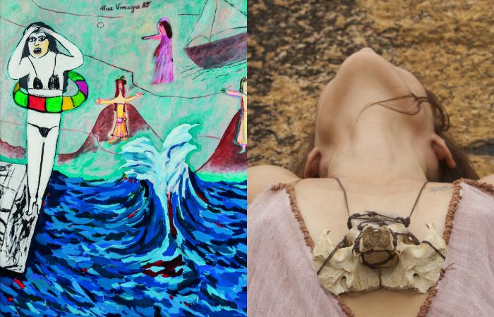 Duas exposições assinadas por mulheres nordestinas chegam simultaneamente ao Museu de Arte Moderna Aloísio Magalhães. Foto: Alice Vinagre e Carol Monteiro/Divulgação