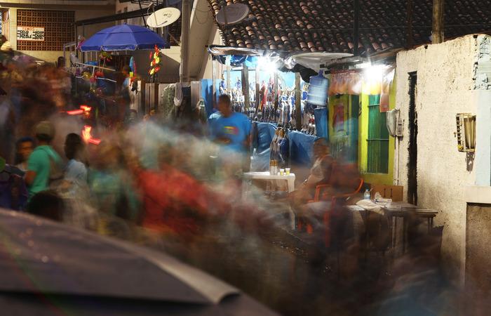 Equipe do DP chegou ao Morro da Conceição às 4h. Foto: Peu Ricardo/DP