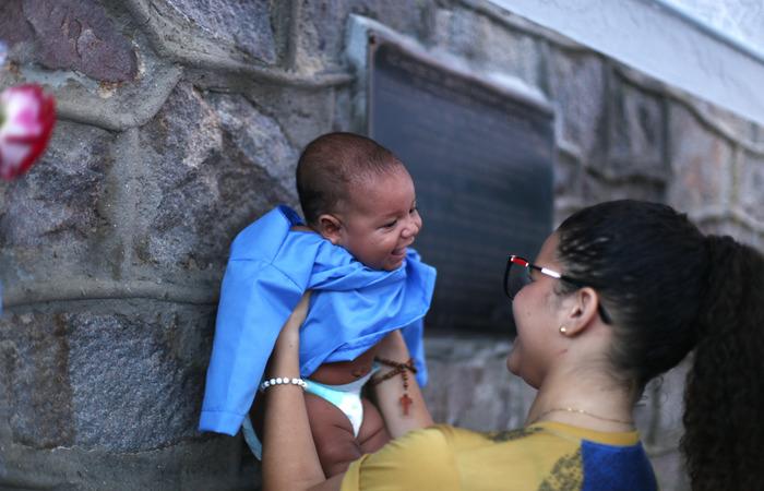 Daniela fez promessa após um parto complicado. Foto: Peu Ricardo/DP