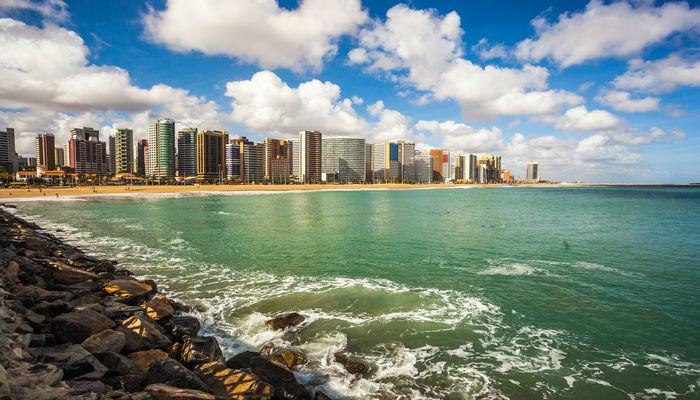 Fortaleza foi eleita uma das 10 cidades mais ricas e mais visitadas do território brasileiro. Foto: Reprodução/Internet