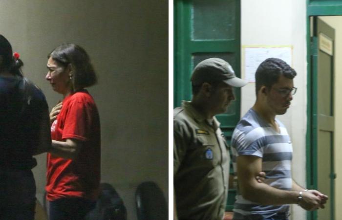 Mãe e filho são acusados de matar médico Denirson Paes em Aldeia - Fotos: Camila Pifano/Esp DP