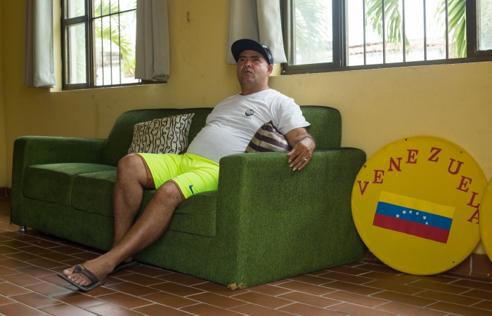 Jean Carlo Ruiz chegou a morar com a família na rua antes de conseguir abrigo. Foto: Camila Pifano/Esp.DP.