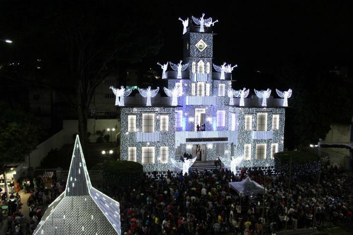 A decoração de todos os polos permanece até o dia 6 de janeiro. Foto: Daniela Batista/Divulgação.