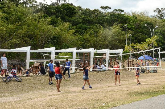 Das 15h às 18h, os parques estão sendo  ocupados pelo projeto. Fotos: Lu Streithorst/Divulgação.