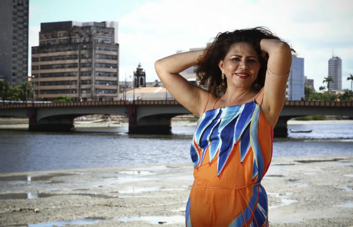 A cantora que comemorou 35 anos de carreira em 2018 agora se prepara show em Berlin. Foto: Paulo Paiva/DP