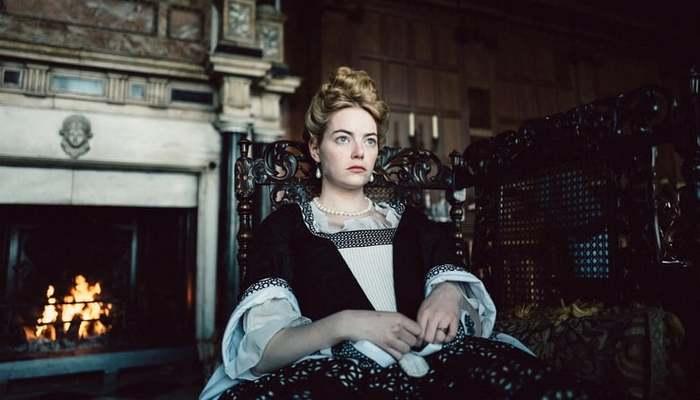 Emma Stone foi indicada a Melhor atriz coadjuvante em 'A favorita'. Foto: Divulgação