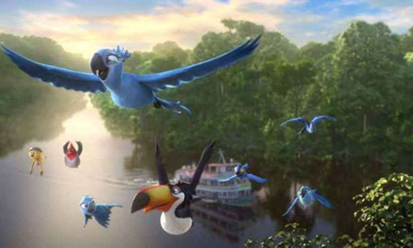 O filme Rio foi um dos que se inspiraram na cidade maravilhosa. Foto: Fox/Divulgação