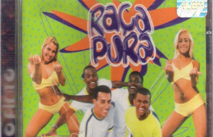 Encarte do CD da Banda Raça Pura. Foto: Reprodução/Internet