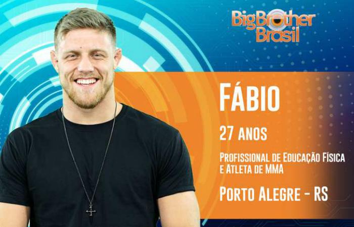 """Em seu vídeo de apresentação, Fábio fez uma """"dancinha"""" bastante criticada nas redes. Foto: Globo/Divulgação"""