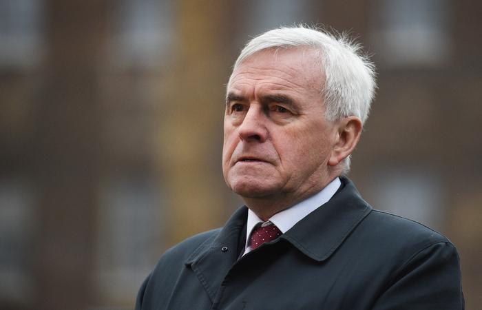 John McDonnell, segundo membro mais importante do Partido Trabalhista. Foto: Oli SCARFF/ AFP