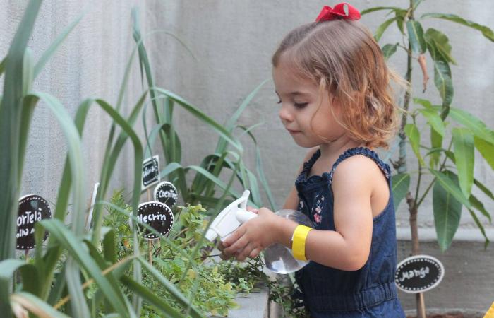 A ideia é resgatar as brincadeiras lúdicas da infância e estimular a criatividade por meio do contato com a natureza. Foto: Coda Assessoria/Divulgação