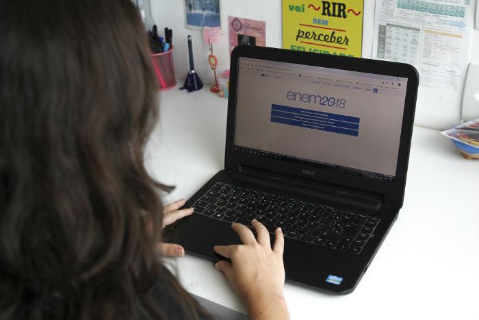 Resultado pode ser consultado pelos estudantes que participaram do exame em novembro do ano passado. Foto: Bruna Costa/Esp.DP.