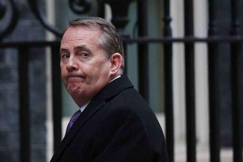 Em entrevista às margens do Fórum Econômico Mundial, Liam Fox apontou que 56% das exportações do Reino Unido vão para países fora da União Europeia atualmente. Foto: Adrian Dennis / AFP