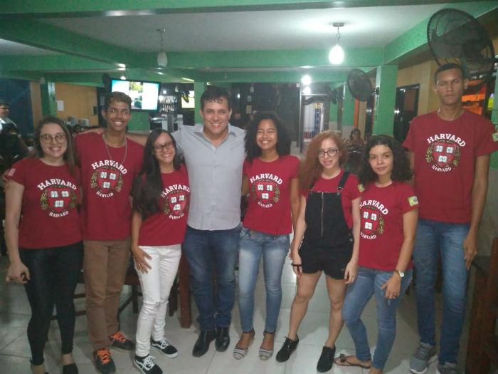 Equipe de estudantes de Igarassu quer representar o estado na competição. Foto: Erem Eurico Pfisterer/Divulgação.
