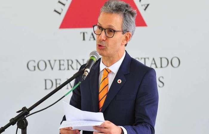 Romeu Zema (NOVO), governador de Minas Gerais. Foto: Juarez Rodrigues/ EM/D.A Press