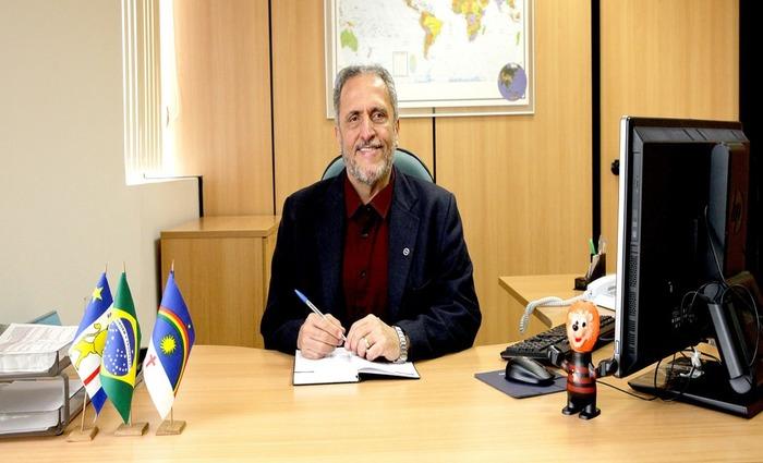 O professor Bertini toma posse na Presidência da Fundação Joaquim Nabuco nesta segunda-feira (28). Foto:Ministério da Cultura