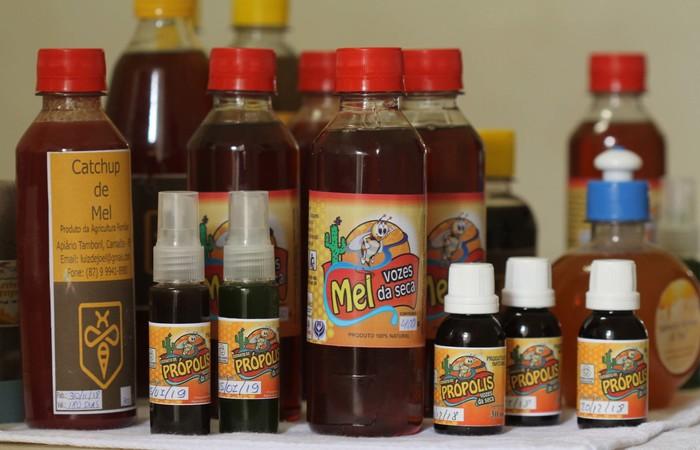 Associação oferece uma série de produtos derivado do mel. Foto: Roberto Arrais/Divulgação  (Foto: Roberto Arrais/Divulgação )