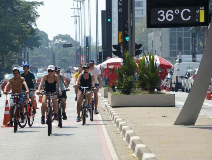 No Rio de Janeiro, até o dia 23 deste mês a temperatura em quatro dias superou os 40 graus. Foto: J. Duran Machfee/Estadão Conteúdo.