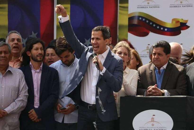 A reação dele ocorre logo após a Organização das Nações Unidas (ONU) apelar para novas eleições na Venezuela e a maior parte da comunidade internacional anunciar apoio ao governo interino. Foto: Juan Guaidó/Redes Sociais