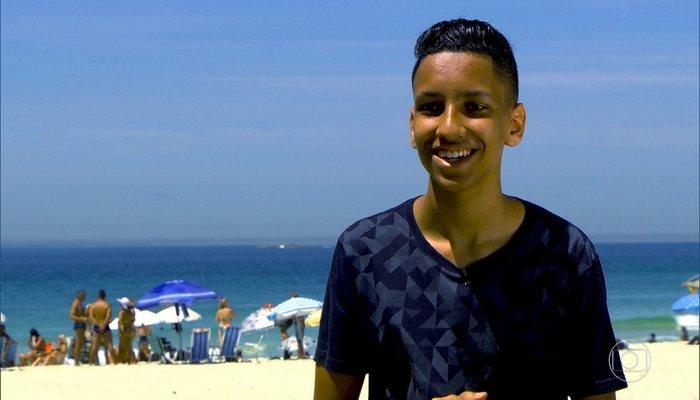Whadi Gama se inspirou em frase do jogador de futebol Egídio. Foto: Reprodução/TV Globo