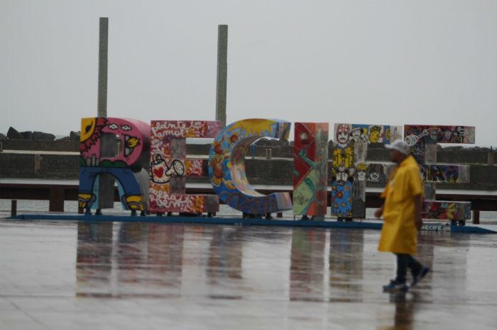 Previsão é de mais chuva nesta tarde e à noite. Foto: Nando Chiappetta