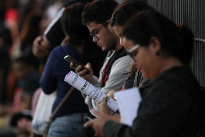 Candidatos que fizeram o Enem 2018 e não zeraram a redação puderam se inscrever no Sisu. Foto: Peu Ricardo/DP.
