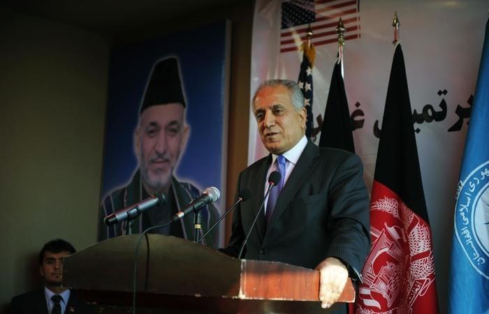Zalmay Khalilzad é o negociador-chefe dos EUA no país asiático. Foto: US Embassy Kabul Afghanistan