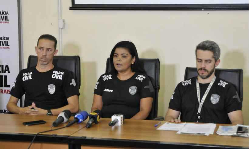 Nessa segunda-feira, a Polícia Civil divulgou uma força-tarefa para agilizar o reconhecimento dos corpos no instituto. Foto: Juarez Rodrigues/EM/D.A Press