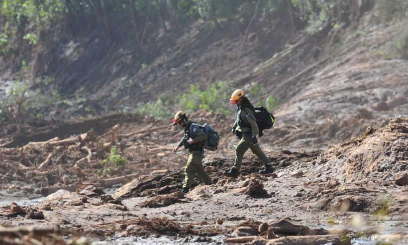 Israelenses trabalham nas buscas desde a tarde desta segunda-feira. Foto: Gladyston Rodrigues/EM/D.A Press