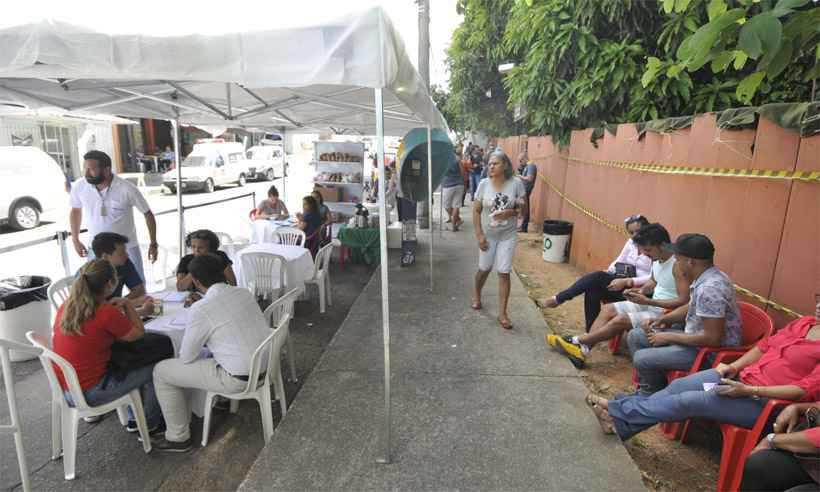 Valor será destinado às famílias que têm membros mortos ou desaparecidos no rompimento da barragem da mineradora na última sexta. Foto: Juarez Rodrigues/EM/D.A Press