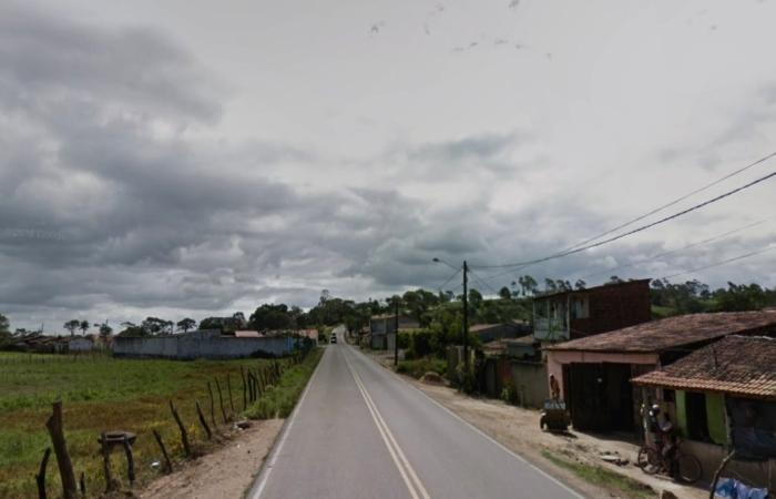 Na foto, estrada que dá acesso ao município. Foto: Reprodução/StreetView. (Na foto, estrada que dá acesso ao município. Foto: Reprodução/StreetView.)