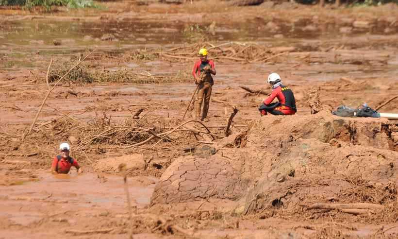 O rompimento da barragem em Brumadinho matou dezenas de pessoas. Foto: Juarez Rodrigues/EM/D.A Press