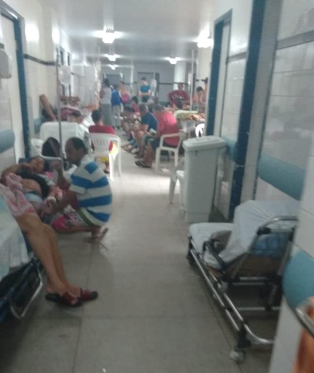 Pacientes denunciam falta de leitos no Hospital Otávio de Freitas ...