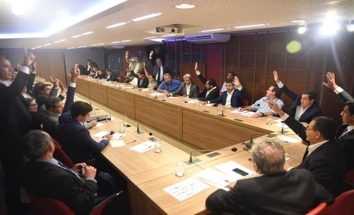 Reunião que decidiu formação do bloco PSB, PT, PSol e Rede. Foto divulgação