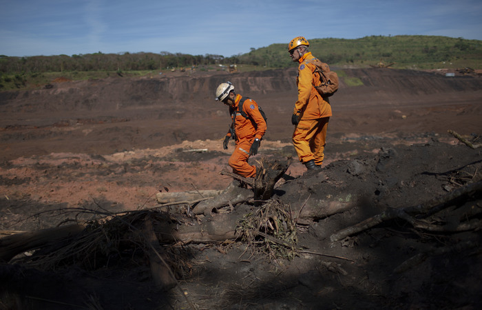 Rompimento da barragem é apontado como a maior tragédia humana do país. Foto: Mauro Pimentel / AFP