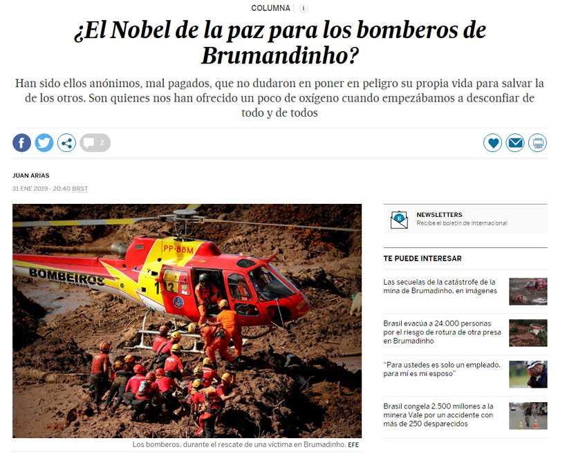 Foto: Reprodução da internet/El Pais
