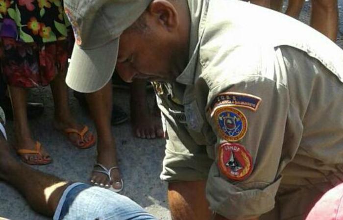 Givanildo Rosa completou 51 anos e atualmente mora em Gameleira, na Mata Sul pernambucana.  Foto: CBMPE/Divulgação