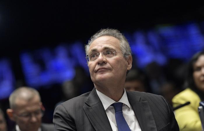 Renan Calheiros retira candidatura à presidência do Senado. Foto: Pedro França / Agência Senado