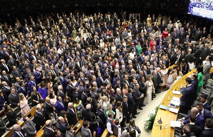 Congressistas tomaram posse na última sexta-feira (1). Foto: Lula Marques/Fotos Públicas