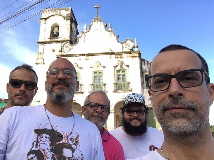 Banda Eddie vai tocar com a antiga formação destacando clássicos do primeiro disco Sonic Mambo. Foto: Divulgação