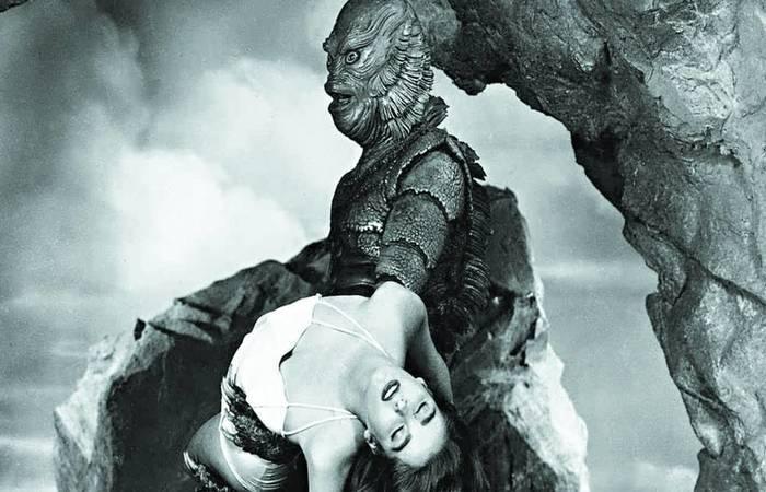 Julie Adams em cena do longa que a imortalizou. Foto: Divulgação